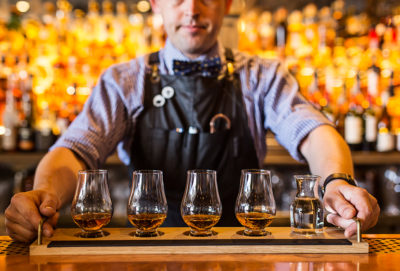 American Whiskey Whisky Flights NOLA Smokehouse and Bar Barangarooo Sydney