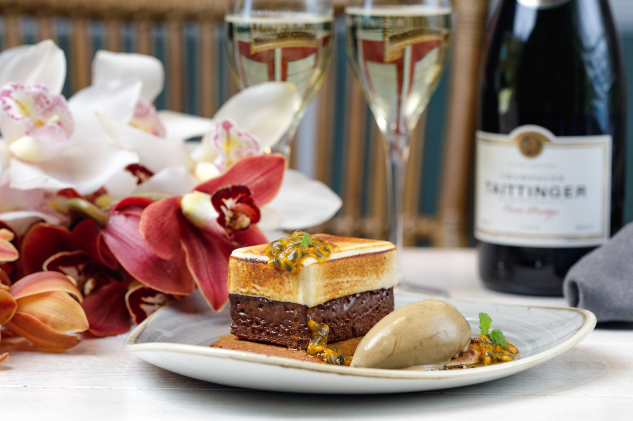 NOLA Champagne Taittinger Smoked Meats Seafood Lunch Sydney