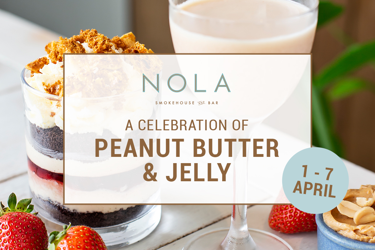 Peanut Butter Jelly Day at NOLA Smokehouse and Bar