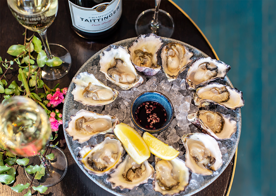Oysters and Champagne NOLA Smokehouse and Bar